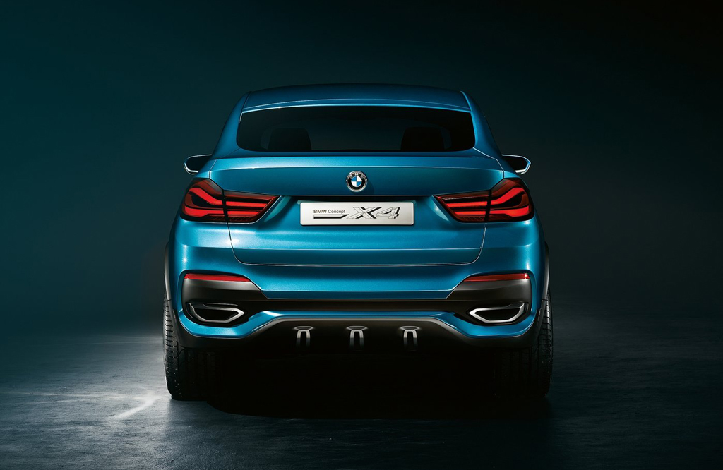 2013 BMW X4 Concept 5 The Stunning New 2013 BMW X4 Concept