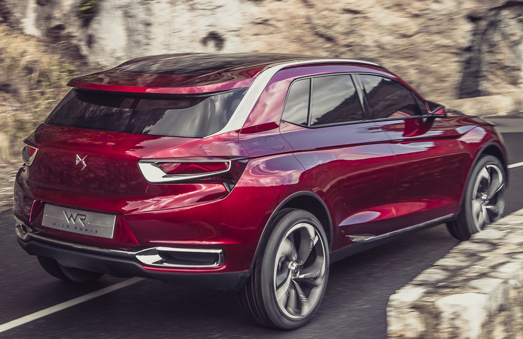 2013 Citroen DS Wild Rubis 10 2013 Citroen DS Wild Rubis – the future DS SUV
