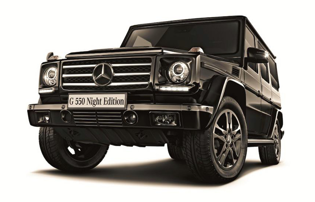 Night edition of 2013 mercedes benz g550 for the japanese for 2013 mercedes benz g550 for sale