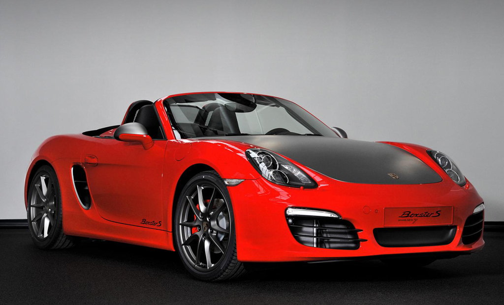 2013 Porsche Boxster S Red 7 Edition 3 2013 Porsche Boxster S Red 7 Edition in the Netherlands