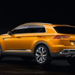 2013 Volkswagen CrossBlue Coupe Concept (1)