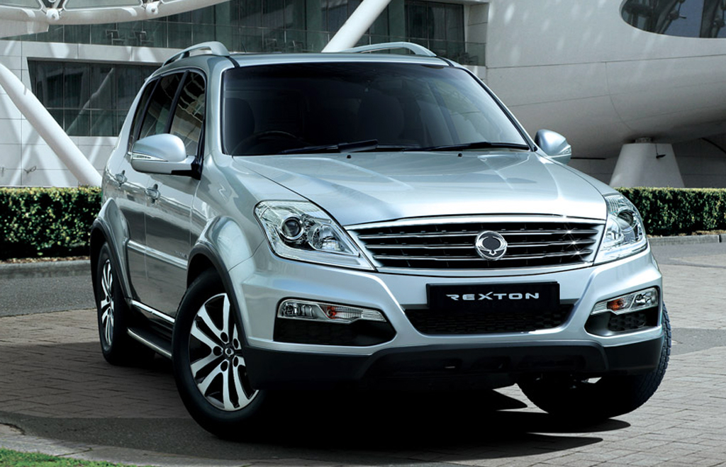 SsangYong Motor Rexton Indian SUV 2 SsangYong Motor Rexton   Good competition for Indian SUVs