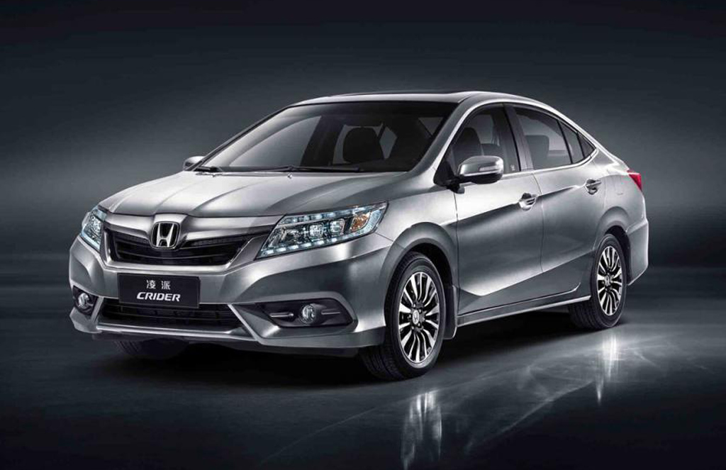 2014 Honda Crider 2 2014 Honda Crider exclusively for the Chinese market