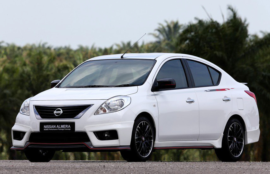 Nissan Almera Nismo Performance Concept 1 Nissan unveils the 2014 Almera Nismo performance package