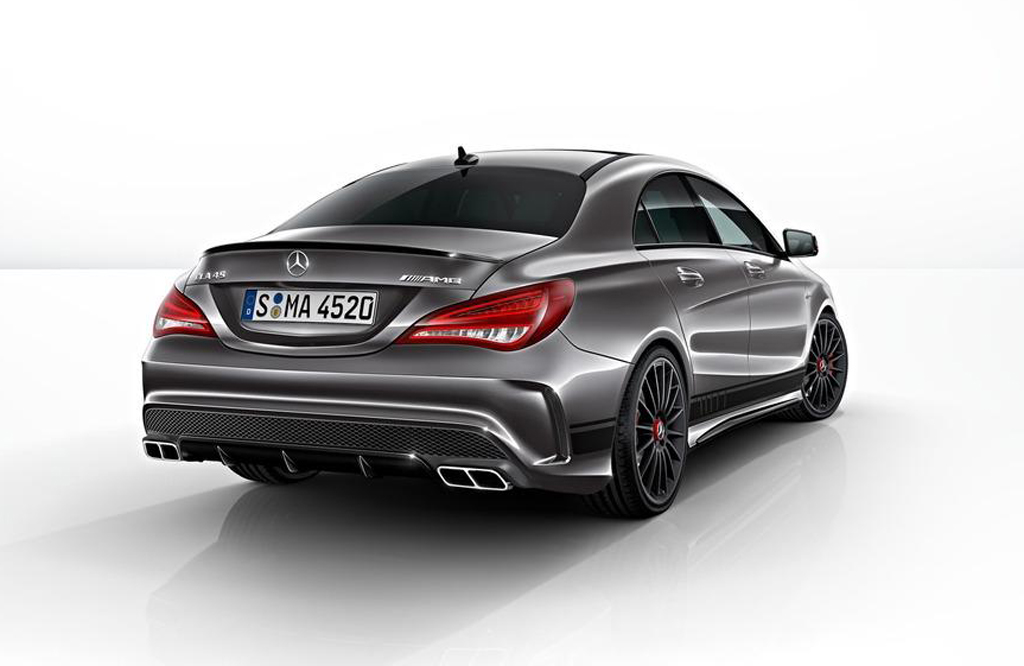 mercedes announces 2014 cla 45 amg edition 1. Black Bedroom Furniture Sets. Home Design Ideas