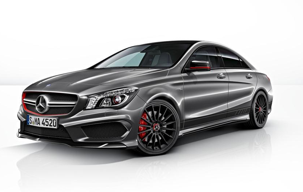 2014 Mercedes CLA 45 AMG Edition 3 Mercedes announces 2014 CLA 45 AMG Edition 1