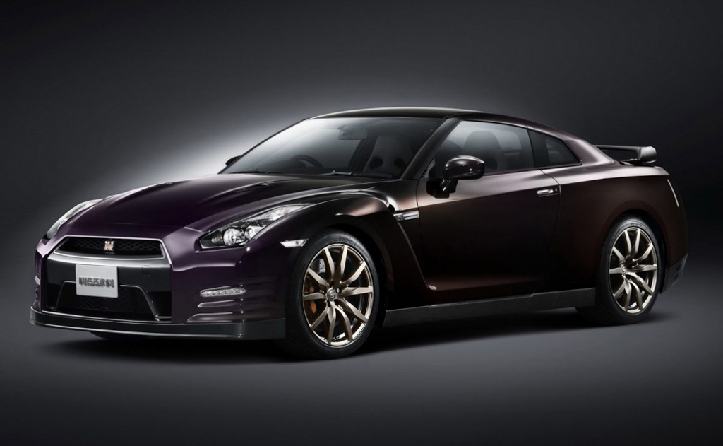 2014 Nissan GT R Midnight Opal Edition Nissan announces 2014 GT R Opal Midnight Edition