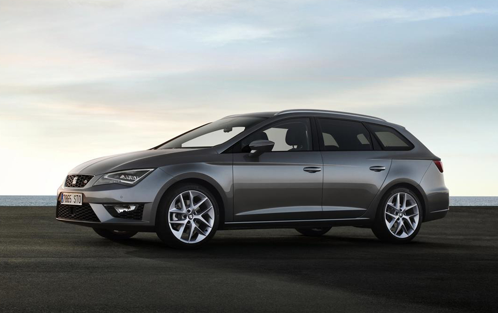 2014 Seat Leon ST 6 2014 Seat Leon ST Estate details and photos