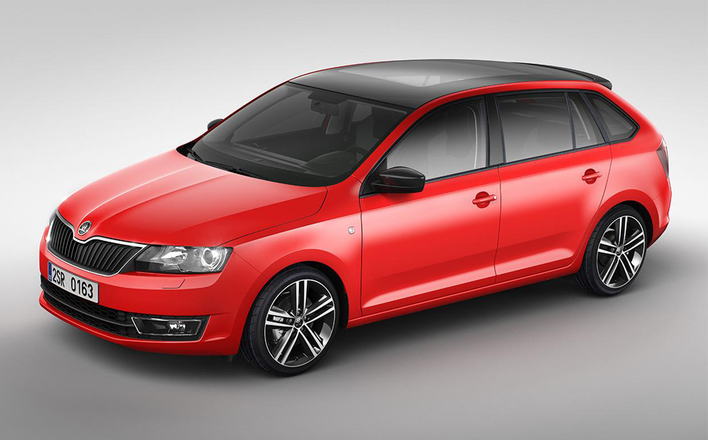 2014 Skoda Rapid Spaceback 3 2014 Skoda Rapid Spaceback photos and details