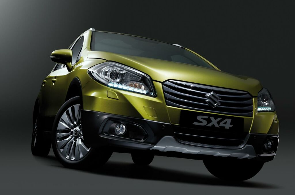 2014 Suzuki SX4 S Cross 8 2014 Suzuki SX4 S Cross in UK from October   Pricing details