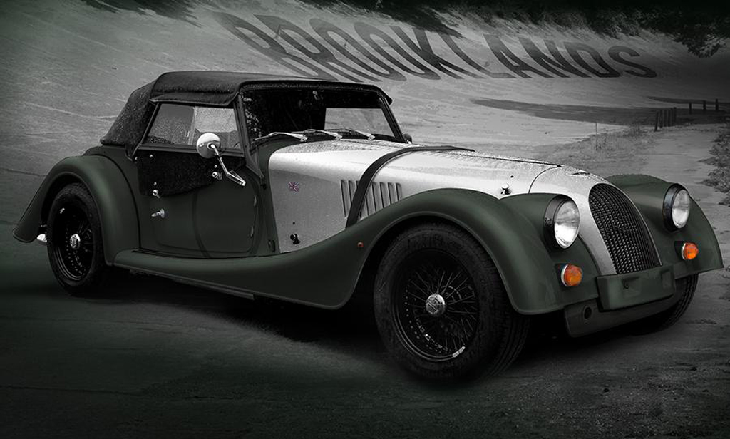 Morgan Brooklands Roadster 2 Brooklands Editions of 2014 Roadster and 3 wheeler announced by Morgan