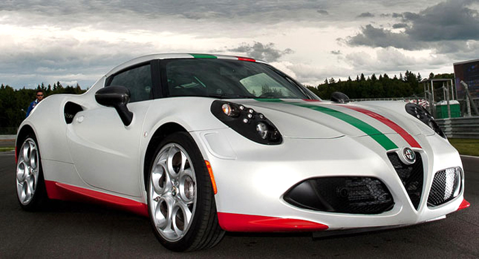 2014 Alfa Romeo 4C Safety Car 2014 Alfa Romeo 4C Safety Car
