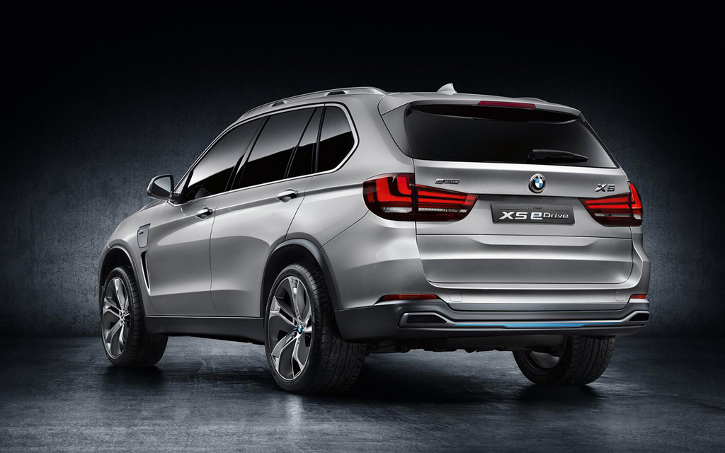 2014 BMW X5 eDrive Concept 11 2014 BMW X5 eDrive Concept to be presented in the Frankfurt Motor show