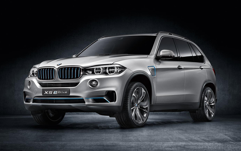 2014 BMW X5 eDrive Concept 3 2014 BMW X5 eDrive Concept to be presented in the Frankfurt Motor show