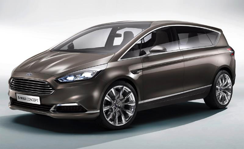 2014 Ford S MAX Concept 11 Details of 2014 Ford S MAX Concept revealed
