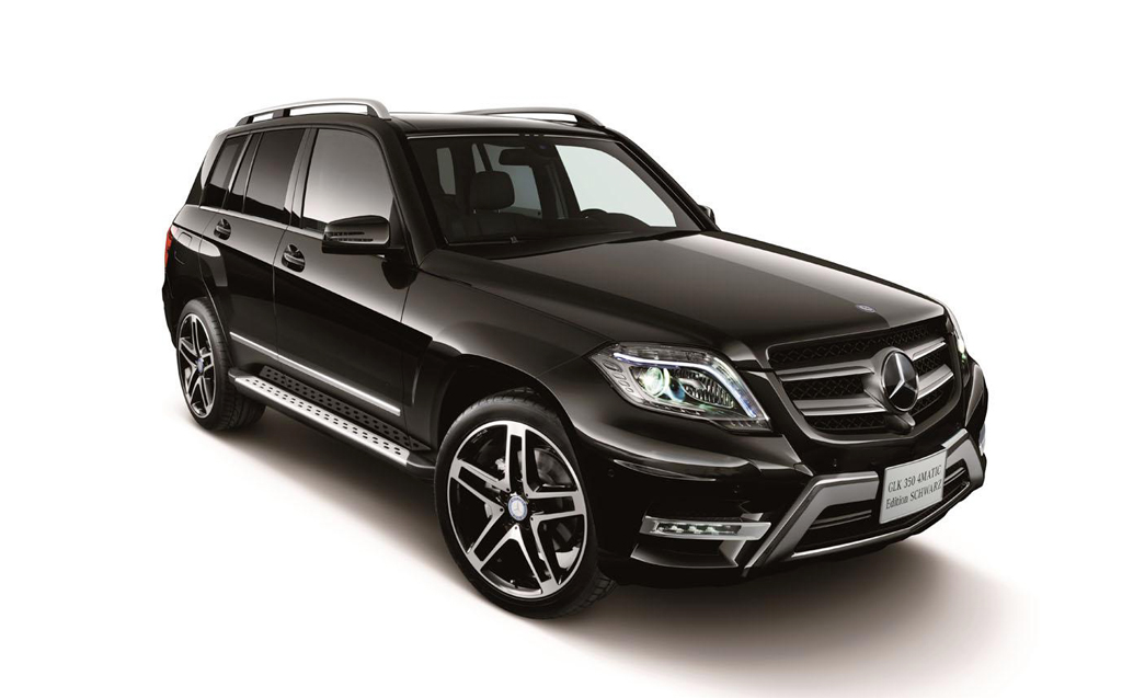 2014 Mercedes GLK 350 4MATIC Schwarz Edition 2014 Mercedes GLK 350 4matic Schwarz Edition launched in Japan