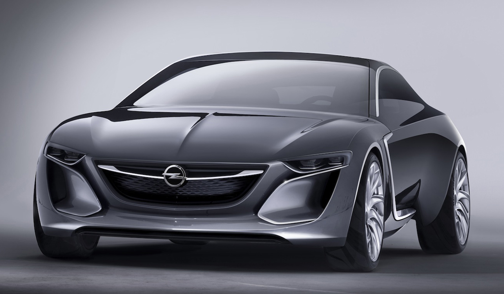 2014 Opel Monza Concept 2 2014 Opel Monza Concept car revealed