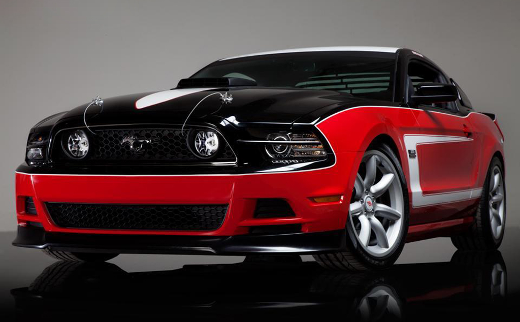 2014 Saleen George Follmer Edition Mustang 3 Salem 2014 George Follmer Edition Mustang