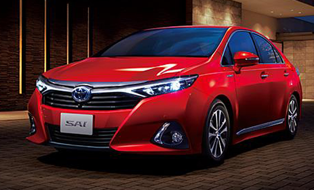 2014 Toyota Sai 1 2014 Toyota Sai Hybrid Sedan launched   details and photos