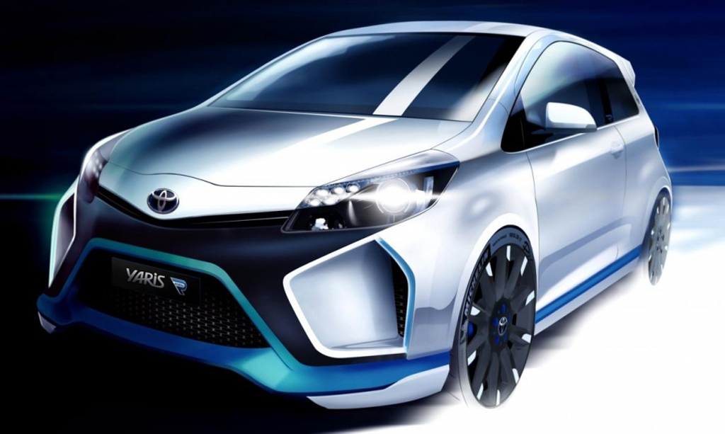 2014 Toyota Yaris Hybrid R 2014 Toyota Yaris Hybrid R – a statement in power and style