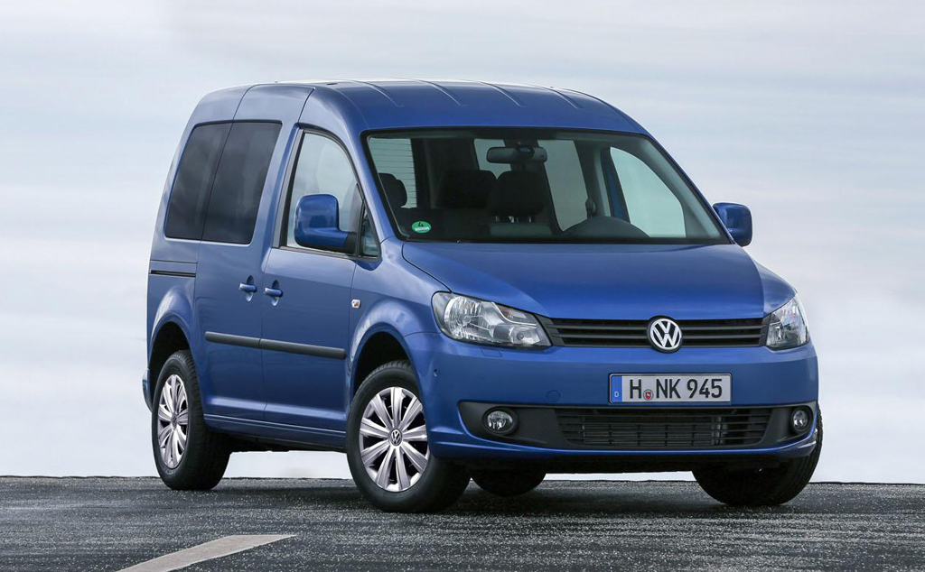 2014 Volkswagen Caddy BlueMotion 2014 Volkswagen Caddy BlueMotion announced