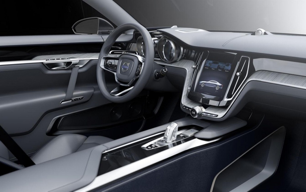2014 Volvo Coupe Concept 1 2014 Volvo Coupe ready to debut at Frankfurt with XC90