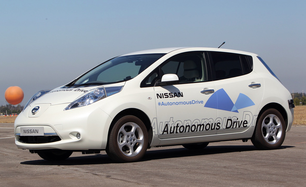 nissan autonomous cars to be ready by 2020. Black Bedroom Furniture Sets. Home Design Ideas