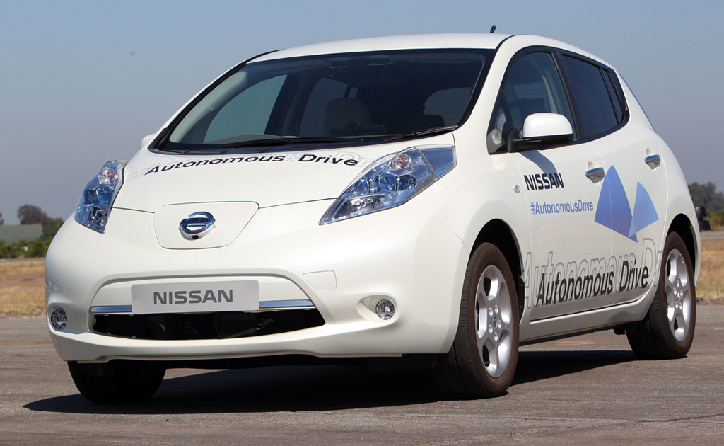 Nissan autonomous cars to be ready by 2020