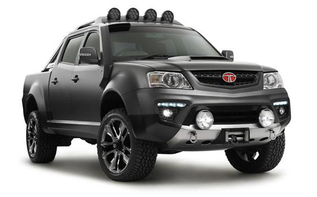 Tata Tuff Truck Concept 5 2014 Tata Tuff Truck Concept unveiled