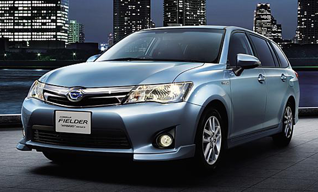 2014 toyota corolla axio and corolla fielder hybrids are launched in japan. Black Bedroom Furniture Sets. Home Design Ideas