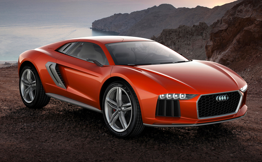 2014 Audi Nanuk Quattro Concept 2 2014 Audi Nanuk Quattro Concept to be shown at Frankfurt