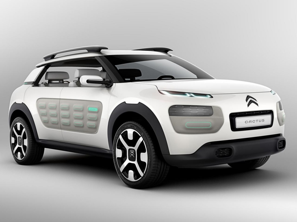 2014 Citroen Cactus concept photos 1 2014 Citroen Cactus concept presented