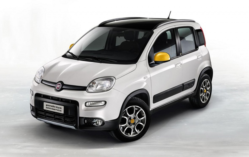 2014 Fiat 4 X 4 Panda Antarctica Fiat 4 X 4 Panda Antarctica to debut at the Frankfurt motor show