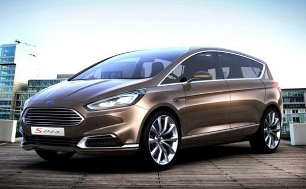 2014 Ford S MAX Concept takes SAV to the next level