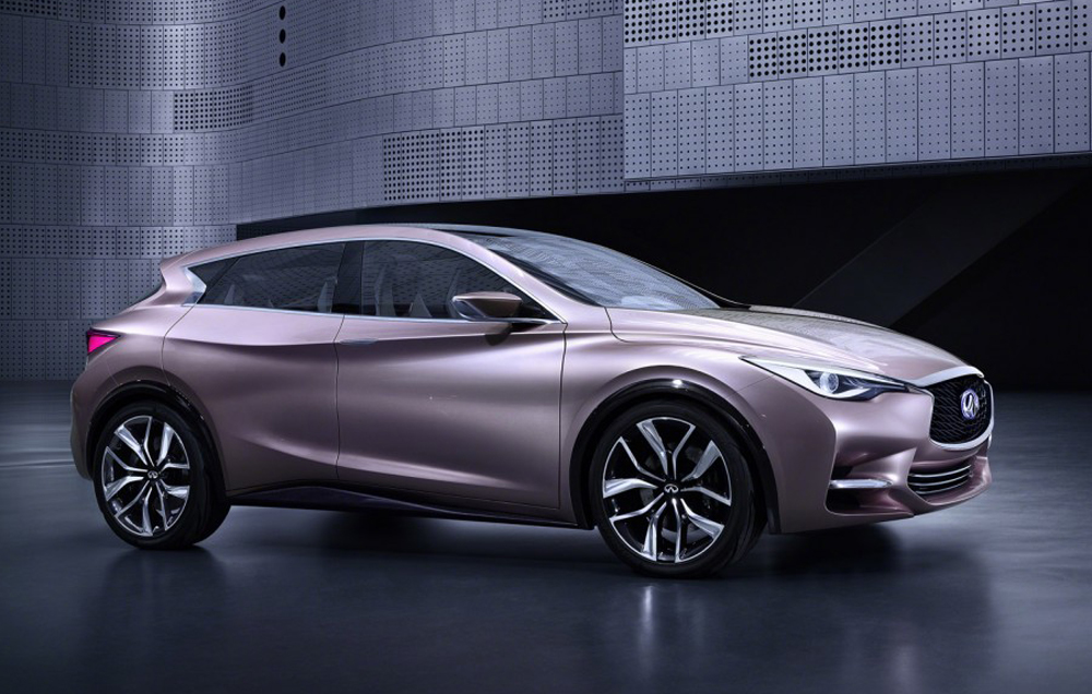 2014 Infiniti Q30 Concept Infiniti Q30 Concept to premier at the Frankfurt international motor show, 2014