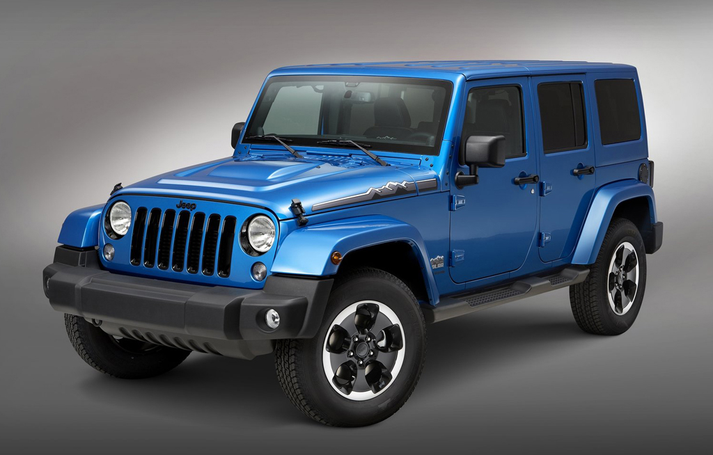 2014 Jeep Wrangler Polar 1 Limited Edition of 2014 Jeep Wrangler Polar to appear in Frankfurt Motor Show