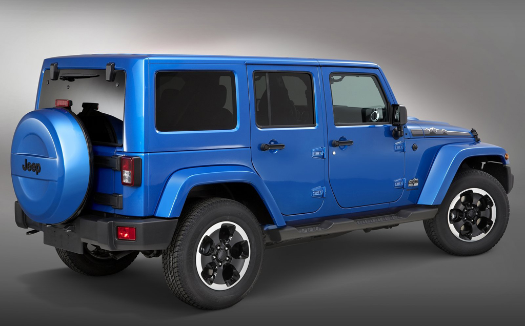 2014 Jeep Wrangler Polar 2 Limited Edition of 2014 Jeep Wrangler Polar to appear in Frankfurt Motor Show