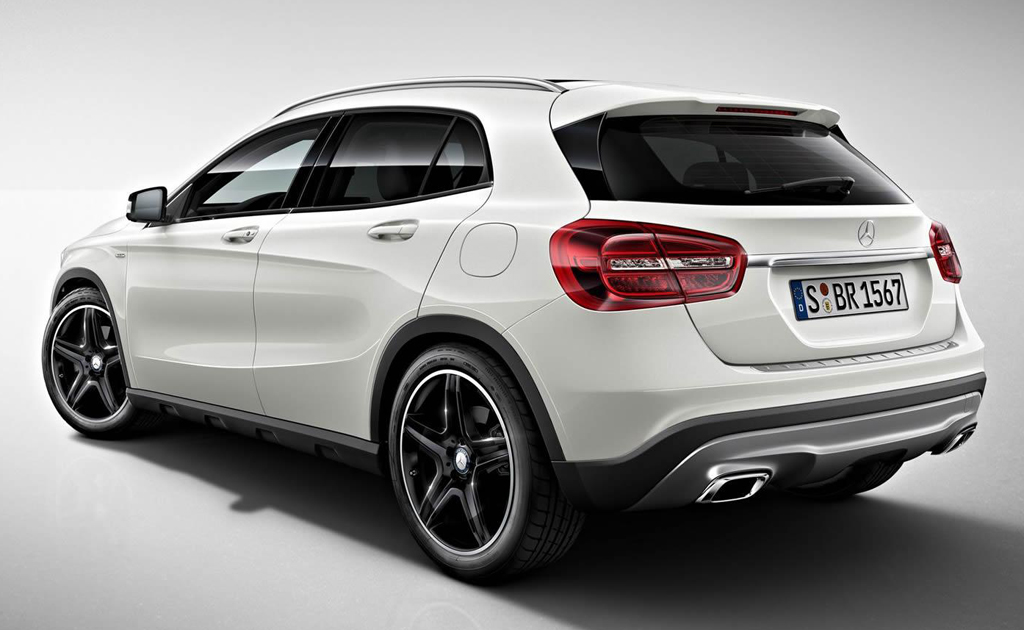 2014 mercedes benz gla edition 1 for Mercedes benz 2014