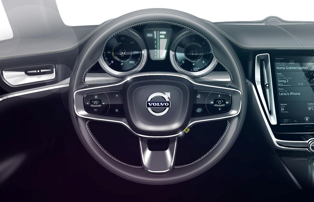 2014 Volvo Concept Coupe Interior 3 2014 Volvo Concept Coupe embodies the emotional designing of Volvo