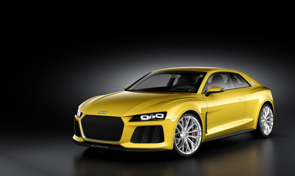 Audi Sport Quattro Concept 1 Audi to present the Sports Quattro concept car at Frankfurt motor show