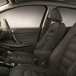 Ford EcoSport Limited Edition interior