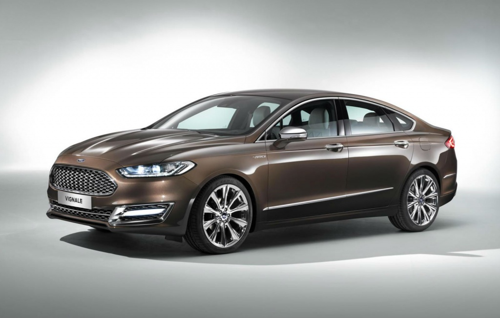 Ford Mondeo Vignale Concept Ford presents the new Mondeo Vignale concept