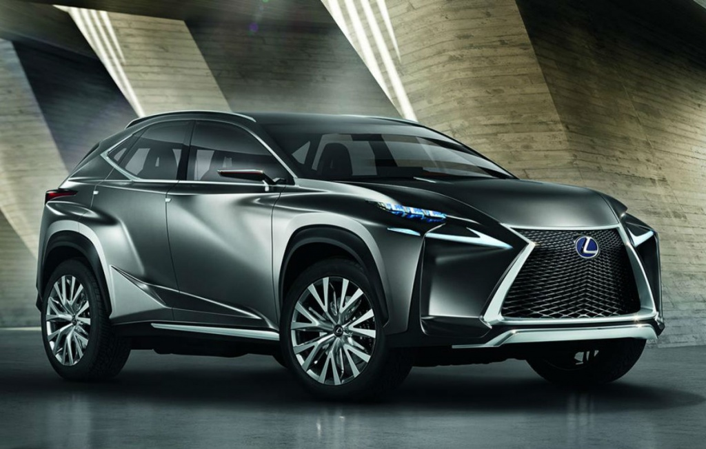 Lexus LF – NX 3 Lexus LF – NX to debut at the Frankfurt motor show