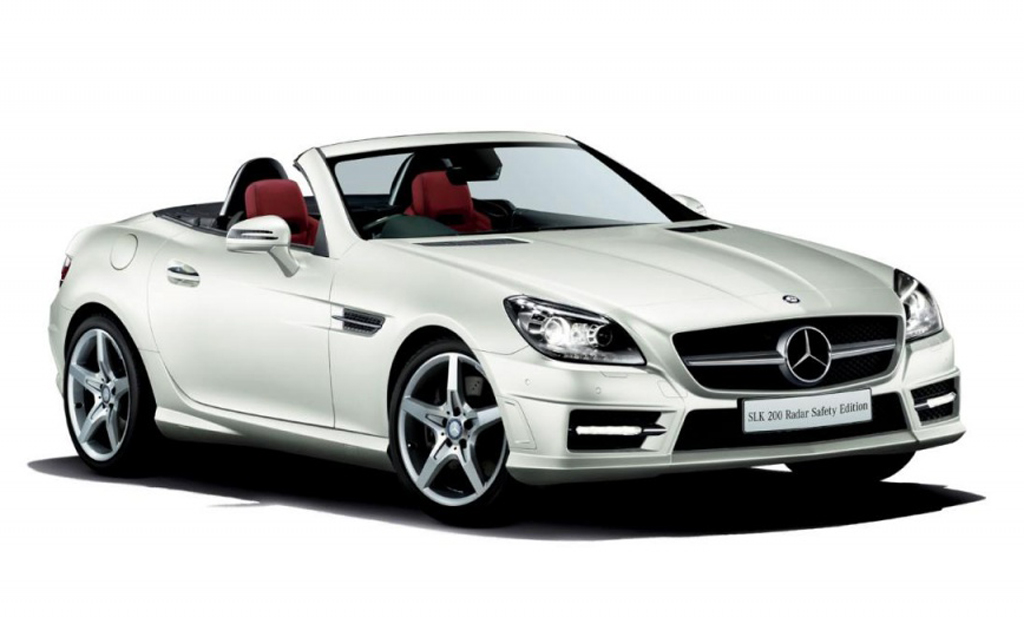 2014 mercedes benz slk 200 radar safety edition. Black Bedroom Furniture Sets. Home Design Ideas