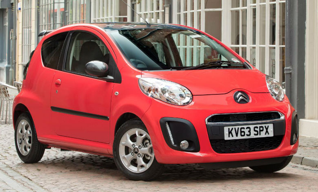 2014 Citroen C1 1 2014 Citroen C1 revised model