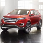2014 Ford Edge SUV concept (1)