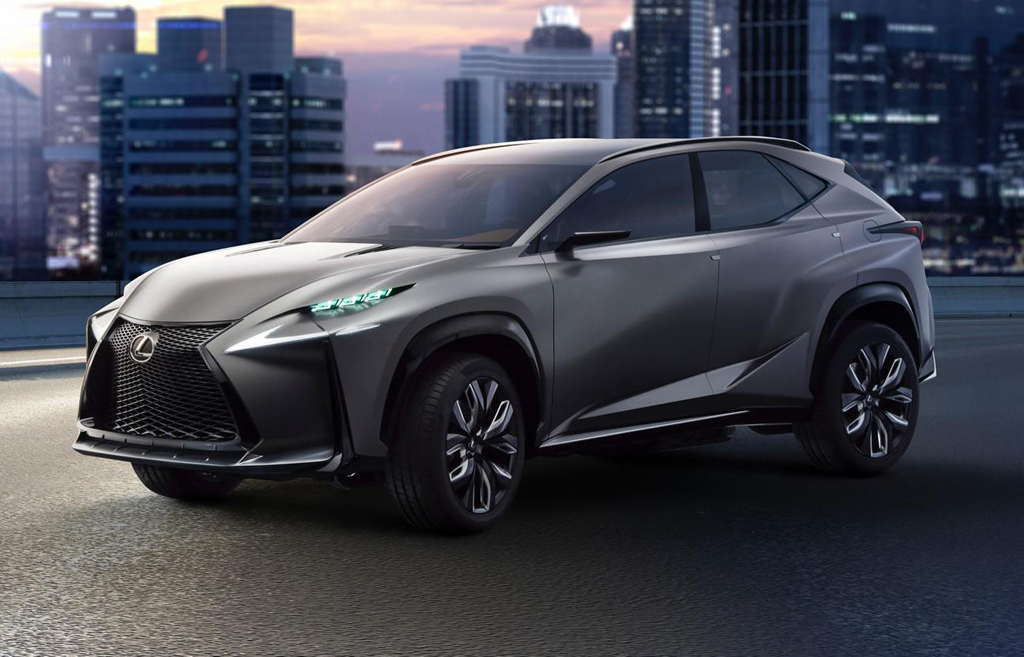 2014 lexus lf nx turbo concept. Black Bedroom Furniture Sets. Home Design Ideas