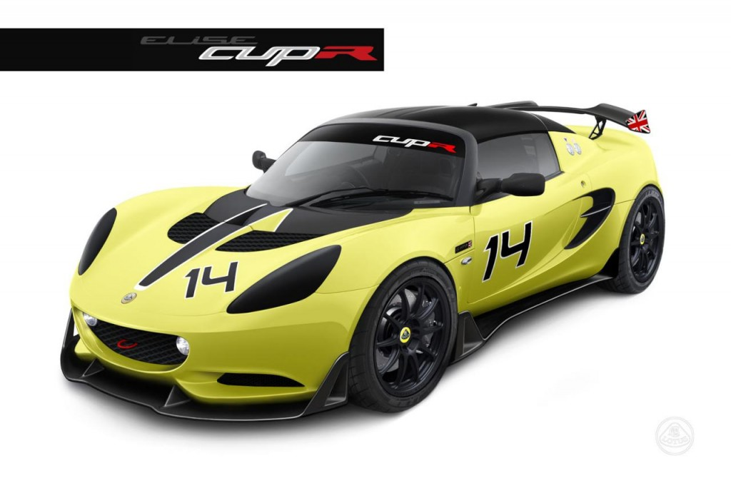 2014 Lotus Elise S Cup R track only model  1024x681 Lotus Elise S Cup R track model details