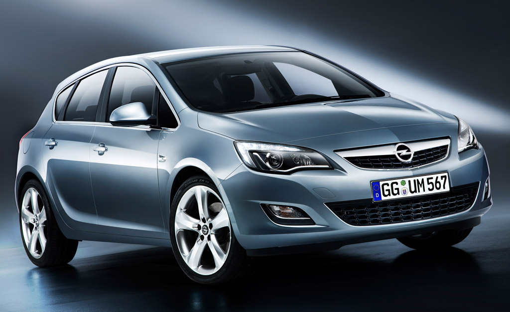 2014 Opel Astra All new 2014 Opel Astra with new engine