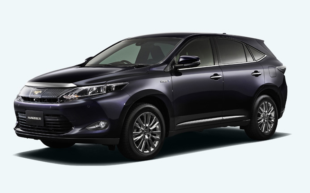 2014 Toyota Harrier 2 2014 Toyota Harrier in Japan with optional hybrid system